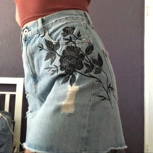 rag & bone Skirts - Rag & Bone Demin Skirt